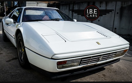 Ferrari 328 GTS rare white with red interior