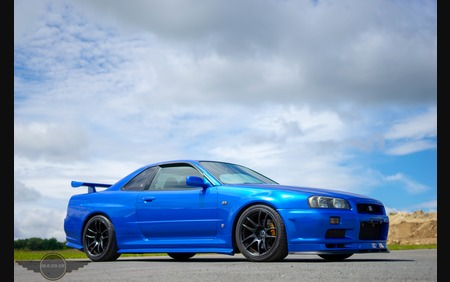 Omori Enhanced Special R34 GT-R with S1