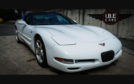 White Chevrolet Corvette C5 Fresh import Awesome and Clean example