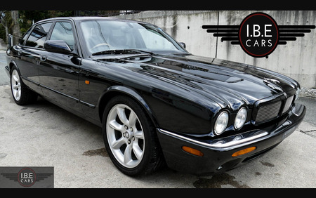 2001 X308 Jaguar XJR in black in supreme condition with no rust or corrosion