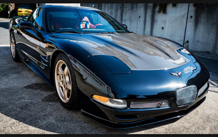 Chevrolet Corvette C5 5.7 V8 awesome machine in black
