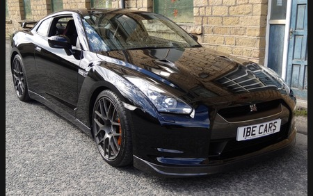Nissan GT-R R35 UK supplied Black Edition low mileage