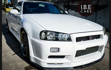 Nissan Skyline R34 GT-R V-Spec Fresh Car BNR34 FRESH IMPORT!!