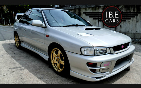 Subaru impreza STi Type R Just leaving Japan Ver.6 GC8