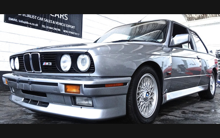 E30 BMW M3 SUPER CLEAN EXAMPLE - COLLECTORS CAR