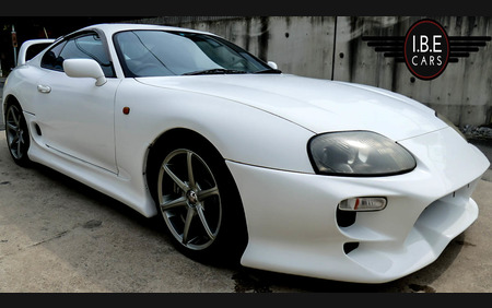 Toyota Supra JZA80 MKIV RZ 6 Speed Manual Super Clean Just about to leave Japan