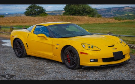 Rare Velocity Yellow Z06 C6 Corvette Super Clean