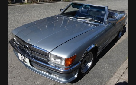 Mercedes Benz 450 SL Ultra Low Mileage Cracking example