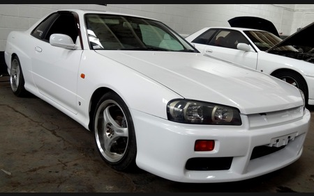 Nissan Skyline R34 GTT Neo ER34 Fresh import just arrived