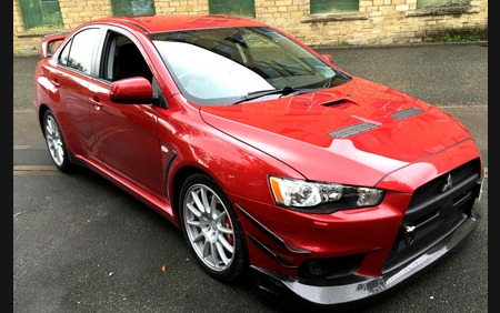 Mitsubishi Evo X FQ-360 UK Low mileage, nice clean example
